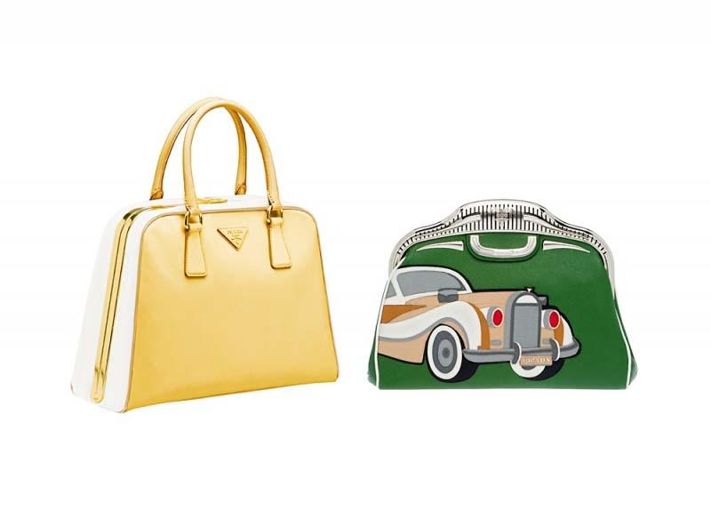"""Игривая классика и современный шик весенней коллекции сумок от  """"Prada """""""