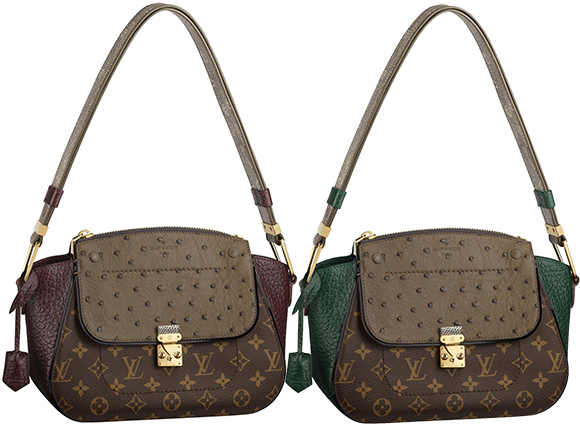 Дизайнеры торговой марки предложили стильным леди очаровательную линию  «Monogram Majestueux», в которую вошли такие модели, как  сумка с длинным  ремнем, ... 466e401b062