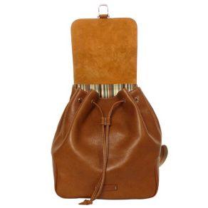 Кожаная сумка-рюкзак из коллекции Toscanella.