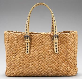 сумки летние плетеные.