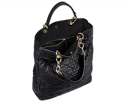 Стеганная сумка-tote от Dior.