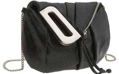 Lizard Embossed Mini Crossbody Bag от Kooba