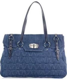 Фото самых модных джинсовых сумок, сумочек и клатчей.